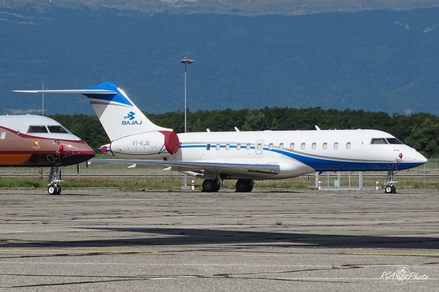 Bombardier BD700 - VT-KJB - GVA/LSGG 27.08.2015