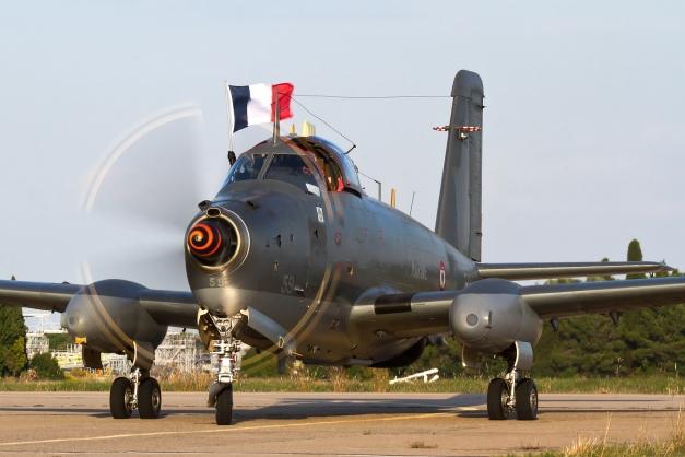 FAZYI-150927-FNI-7D-100-1600-011Bréguet Alizé à la première Féria de l'Air à Nîmes-Garons le 27 Septembre 2015 !