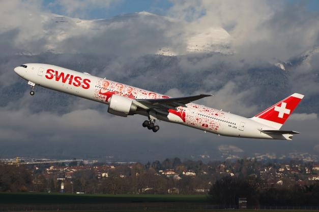 B777-300ER - Swiss - HB-JNA - GVA - 11.02.2016