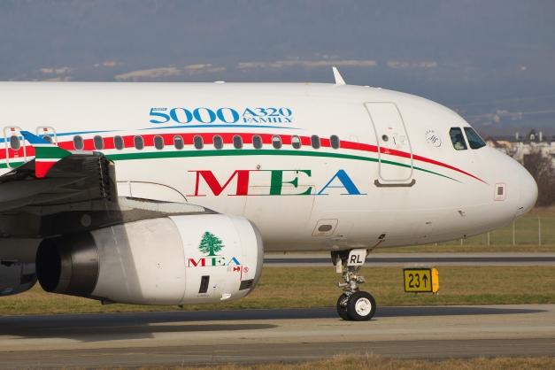 A320-200 - MEA - GVA - 24.01.2016