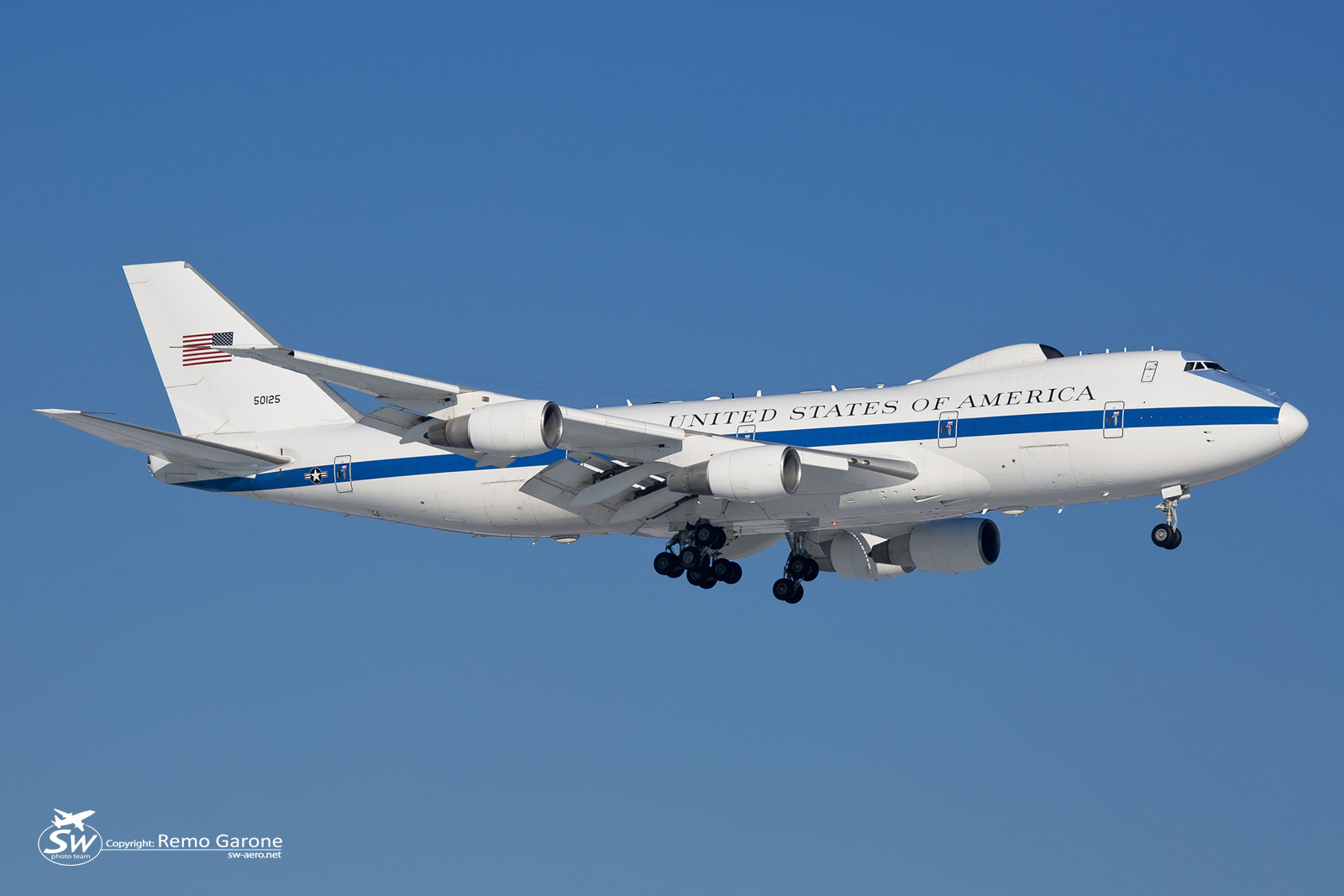 Boeing E-4B US Air Force - WEF 2016 - 25 Janvier 2016