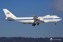 USA Air Force - Boeing E-4B - Zurich ZRH/LSZH 21.01.2016