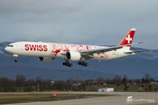 B777-3DE(ER) - HB-JNA - Swiss - GVA/LSGG - 8 Février 2016