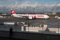 B777-300ER - Swiss - HB-JNA - GVA/LSGG - 11 Février 2016