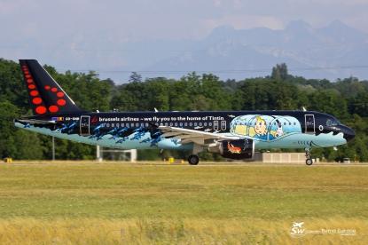 A320-214 - OO-SNB - Brussels Airlines - GVA/LSGG - 17 Juillet 2015