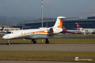 Gulfstream G550 (P4-PPP) - Privé - ZRH/LSZH - 6 Décembre 2015