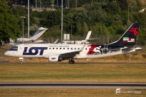 ERJ-170-200LR (SP-LIB) - LOT Polish Airlines - GVA/LSGG - 19 Juillet 2015