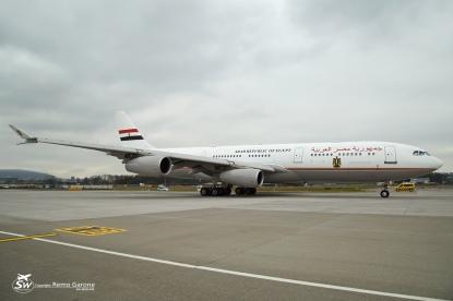 A340-212 (SU-GGG) - Egypt Government - ZRH/LSZH - 23 Janvier 2015