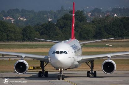 A330-203 (TC-JND) - Turkish Airlines - GVA/LSGG - 12 Août 2015