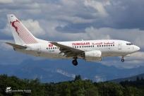B737-6H3 (TS-IOP) - Tunisair - GVA/LSGG - 25 Juillet 2015