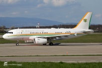 A319-133/CJ (TU-VAS) - Ivory Coast Air Force - GVA/LSGG - 12 Avril 2015