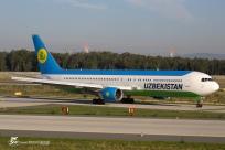 B767-33P/ER (UK-67004) - Uzbekistan Airways - FRA/EDDF - 3 Octobre 2015