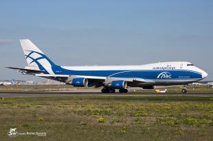 """B747-46NF/ER/SCD (VP-BIM) - AirBridgeCargo Airlines """"ABC"""" - FRA/EDDF - 30 Septembre 2015"""