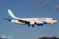 B737-4M0 (VP-BKW) - Yamal Airlines - GNB/LFLS - 10 Janvier 2015
