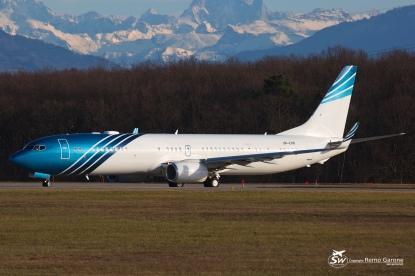 Boeing 737-9JA/ER (VP-CKK) - Privé - GVA/LSGG Genève - 15 Janvier 2015