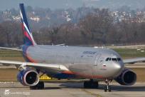 "Airbus A330-343 (VQ-BCV) - Aeroflot ""Russian Airlines"" - GVA/LSGG Genève - 2 Janvier 2015"