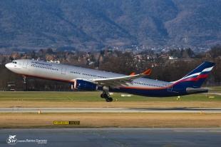 "Airbus A330-343 (VQ-BQX) - Aeroflot ""Russian Airlines"" - GVA/LSGG Genève - 11 Janvier 2015"