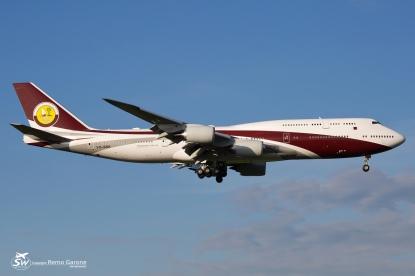 Boeing 747‑8ZV/BBJ (VQ-BSK) - ZRH/LSZH - 28.08.2015