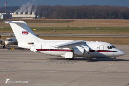 BAe-146-100 - ZE701 - GVA/LSGG 08.01.2015