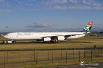 South African Airways - Airbus A340-642 - ZS-SNG - Frankfurt-am-Main FRA/EDDF - 30.05.2015